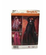 Simplicity S0259 Misses Gothic Capes Halloween Costume Cosplay Sewing Pattern - $12.86
