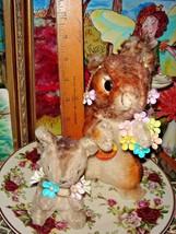 VTG ENAMEL FAUX PEARL FLOWER BRACELET WREATH BROOCH DANGLE DROP EARRING ... - $237.99
