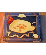 World Showcase Jay Imports Collection Floral Melody Microwave Baking DIsh - $3.77