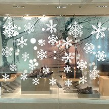 Bilipala Snowflakes Stickers Snowflake Decorations - $9.44
