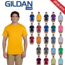 Gildan Plain Adult Ultra Cotton Mens Short Sleeves 6 oz Crewneck Casual T-Shirt - $5.81+