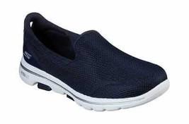 Women's Skechers GOwalk 5 Walking Shoe Navy/White - $91.44