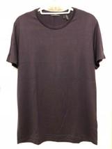 Theory Men's Short Sleeve PLUM  Marcelo Stay Crew-Neck T-Shirt medium - $49.99