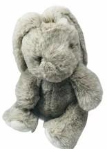 Westcliff Collection Bunny Rabbit Plush Gray Floppy Ears Toy Stuffed Ani... - $16.36