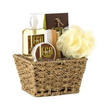 Eco Purity Bath Set In Basket - $14.38