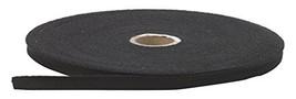"""Pearl 0.5"""" Wide Twill Tape, 36 yd, Black - $16.87"""