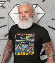 Man-Wolf T Shirt retro 1970s Marvel Comics graphic tee Creatures on the Loose image 3