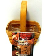 2001 Longaberger Salt and Pepper Basket, #12044.  Excellent condition se... - $29.01