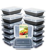 Bento Box Meal Prep Containers by Enther, 20 Pack - $16.99