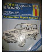 Haynes Automotive Repair Manual FORD Ranger & B... - $9.99