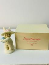 2003 Snowbunnies Bonnets & Bows Figurine Department 56 W/ Original Box E... - $14.99