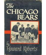 the chicago bears football book howard roberts george halas first editio... - $12.99