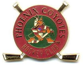 NHL Licensed Pin Phoenix Coyotes Club Pin - $5.00