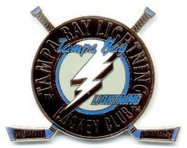 NHL Licensed Pin Tampa Bay Lightning Club Pin - $5.00