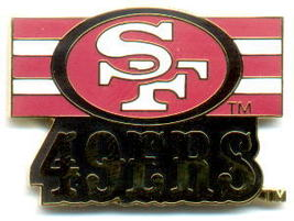 NFL Licensed Football Pin San Francisco 49ers Logo Pin - $5.00