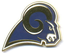 NFL Licensed Football Pin St. Louis Rams Logo Pin - $5.00