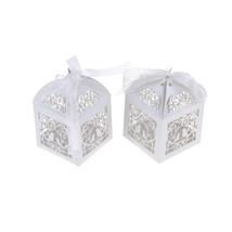 Mini Bird Cage DIY Candy Cookie Gift Boxes Romantic Wedding Party Favor ... - $15.03