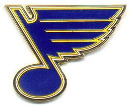 NHL Licensed Pin St. Louis Blues Hockey Logo Pin - $5.00