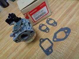16100-Z1L-854 Genuine Honda BB75EC Oem Auto Choke GCV160 Carburetor With Gaskets - $38.60