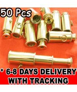 BRASS KEYCHAIN TELESCOPE NAUTICAL Mini Telescope BULK WHOLESALE LOT of 5... - $89.99
