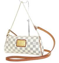 Authentic LOUIS VUITTON Eva Damier Azur Chain Clutch Shoulder Hand Bag #... - $695.00