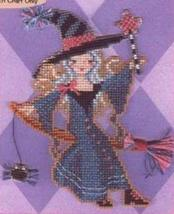 Stitch-A-Little: Fiona The Fay Witch Chart only cross stitch Brooke's Book - $5.40