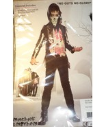 No Guts No Glory Zombie Costume boy size S small 6 -7 Halloween walking ... - $17.77