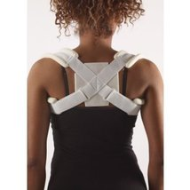 Corflex Clavicle Strap - Clavicle Fracture Treatment-L - White - $19.57