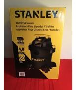 Stanley Wet/Dry Vacuum, 6 Gallon, 4 Horsepower - $80.00