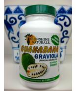 Guanabana Sunshine Naturals 800 mg Graviola Soursop Dietary Supplement - $15.83