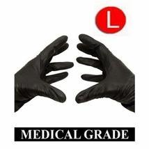 Disposable Black Nitrile Powder Free Medical Exam Gloves 5 Mil Size: Large 1000  - $78.35