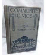 Community Civics Grace A Turkington Hardback  Ginn And Co.  The Athenaum... - $17.44