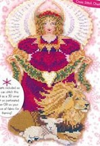 2007 Spirit Of Christmas Angel Chart only cross stitch chart Brooke's Books - $7.20