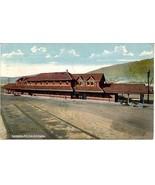 New Erie Railroad Depot Salamanca New York Vintage Post Card - $6.00