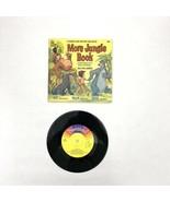 "1969 Walt Disney ""The Jungle Book"" MORE 7"" 33-1/3 Record &Story Book Dis... - $20.00"