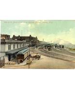 Union Station Rail Yards Albany New York 1910 Post Card - $7.00