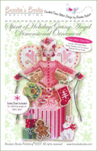Spirit Of Holiday Giving Angel Chartpack cross stitch Brooke's Books - $11.70