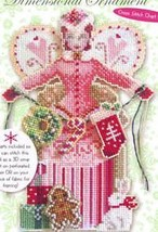 Spirit Of Holiday Giving Angel Chart only cross stitch chart Brooke's Books - $7.20