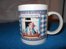 "Good Housekeeping Coffee Cup Mug 3.75"" tall x 3.25 Diam - $9.50"