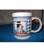 "Good Housekeeping Coffee Cup Mug 3.75"" tall x 3.25 Diam - $9.50"