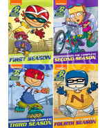 Rocket Power Seasons 1 2 3 4 Complete Collection Series DVD Set Episodes... - $89.09
