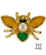 Pins are In Gold Pearl Fly Brooches are Back - $8.50