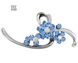 Jss blue flower brooch thumb155 crop