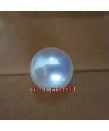 Australia Top REAL perfect round WHITE 13-14MM LOOSE SOUTH SEA PEARL pen... - $796.90