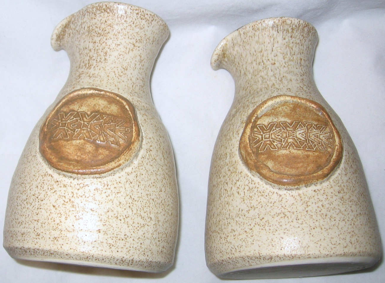 "LOT OF 2 CLEE ETON WINDSOR POTTERY JUGS 6 1/4""  FREE SHIPPING USA."