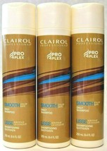 3 Clairol Professional Pro 4Plex Smooth Color Safe Daily Shampoo 8.4 oz - $22.76