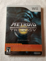 2009 Metroid Prime Trilogy: Collector's Edition Steelbook Nintendo Wii  ... - $190.00