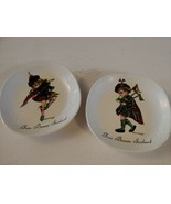 Brownie Downing Ceramics Pair (2) Frae Bonnie Scotland Signed Boy Girl D... - $29.65