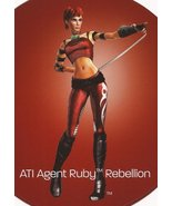 ATI Agent Ruby Rebellion Limited Edition Figurine w/Certificate Of Authe... - $24.95