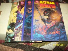 BATMAN VERSUS PREDATOR #1(2 COVERS) 2,3, (COMPLETE MINI-SERIES) PRESTIGE... - $20.00